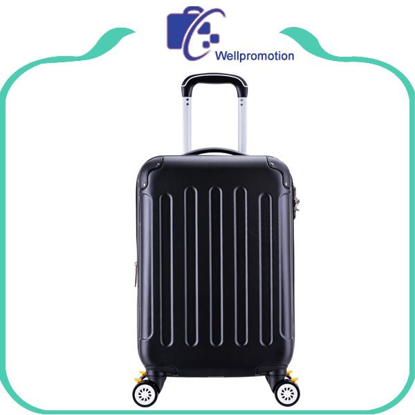 3pcs ABS cheap travel trolley aluminum frame suitcases luggage sets