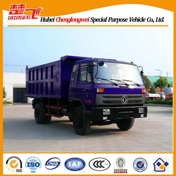 DONGFENG 4X2 12 Ton Mini Tipper Dump Truck factory directly sale