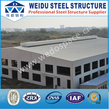 Hiqh Quality Pre Engineering Steel Structure Building With CE / SGS