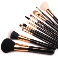 Professional beauty needs personalized 12pcs makeup brush set cosmetic brush set