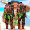 Hot Movie Moana Cosplay Maui Costumes