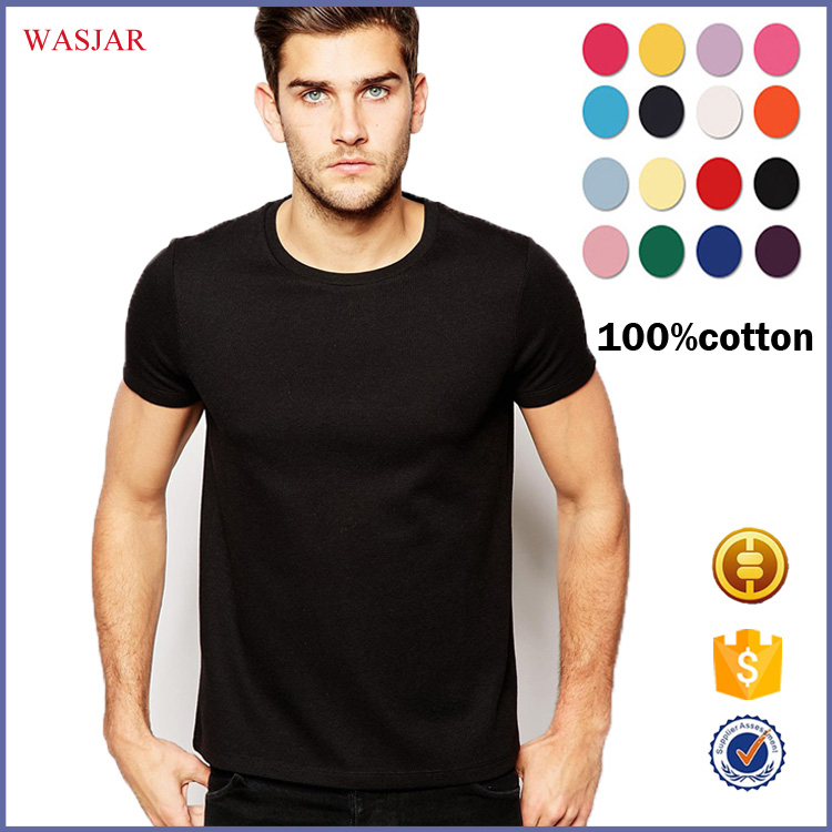 Wholesale China screen printing high quality t shirt branded cheap blank printed t-shirt For Men
