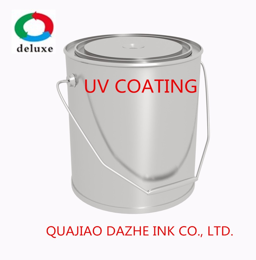 UV Top Coat and UV Base Coat and UV varnish for vacuum metalizing