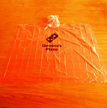 Virgin disposable plastic rain poncho with 0.015mm-0.03mm thickness