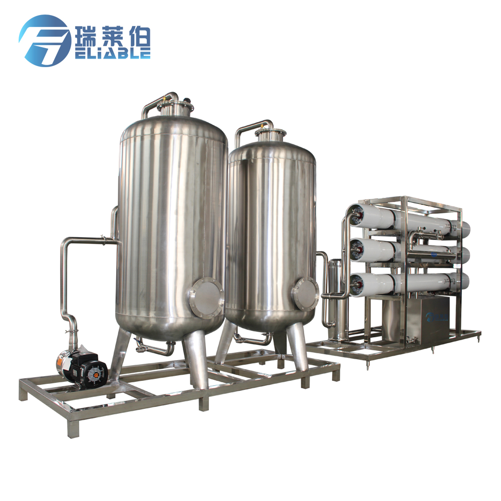 Industrial Aqua Drinking Water Treatment Plant With Reverse Osmosis