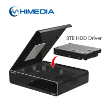 High Quality 4K Ultra 12V 8Tb 3.5 Hdd Usb 3.0 Kodi 17.0 Hdr Streaming Android 7.0 Smart Tv Box 1080P Full Hd Media Player