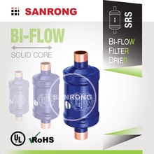 SRS BFK DMB Steel Liquid Line Bi-Flow Air Conditioning Filter Drier, UL Approved Carrier AC Refrigeration Spare Parts