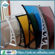 Building Materials clear uv-protection harga awning polycarbonate