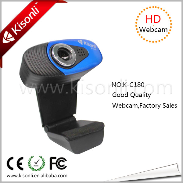 Latest design usb 2.0 rohs webcam pc camera with lights