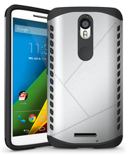 New Design Robot Armor Case, Hard Shield Case for Moto X force