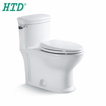 HTD-MY-2195 Chinese bathroom ceramic siphonic OEM S-trap wc toilet