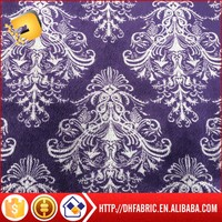 Printed Spandex Super Soft Velvet Fabric for Sofa/Home Textile/Garments use