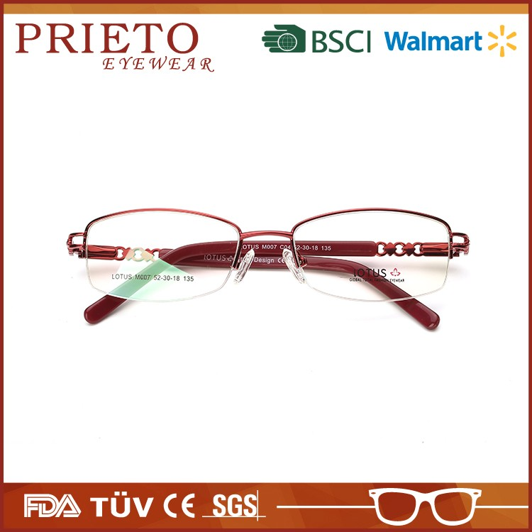 New style high end eyeglass frames made in China