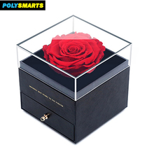 2018 Custom Size Luxury Wholesale Cardboard Strong Paper Gift Box Clear Lid*