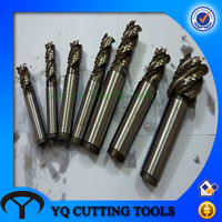 HSS M2/M35 Wave Edge End Milling Cutter with Straight Shank