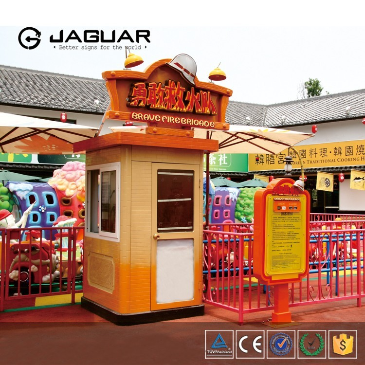 Factory direct sale custom food kiosk / amusement park kiosk
