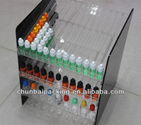 custom made display rack for e liquid bottles
