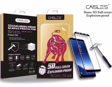 CAISLES Nano 5D Full Cover Anti-Shock For Cell Phone S9 S9 plus Explosion-proof Anti-fingerprint Full Screen Protector