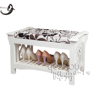 racks shoe, 2016 Newest design living room white racks shoe