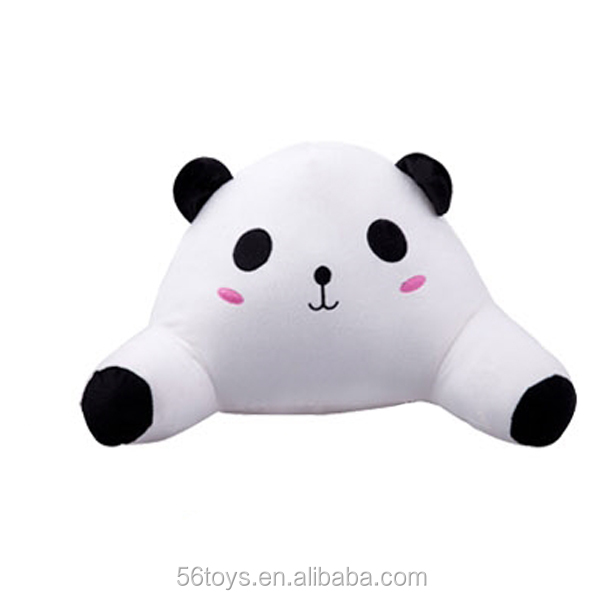 Plush Cute Animal Five Color Bear , Panda Shape Surround Stuffed Pillow