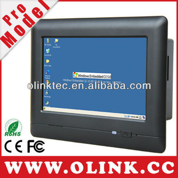 Olink M728: Mobile embedded system with WinCE 6.0 OS, 4-wire touch panel, CanBus, RS232, RS485, WiFi
