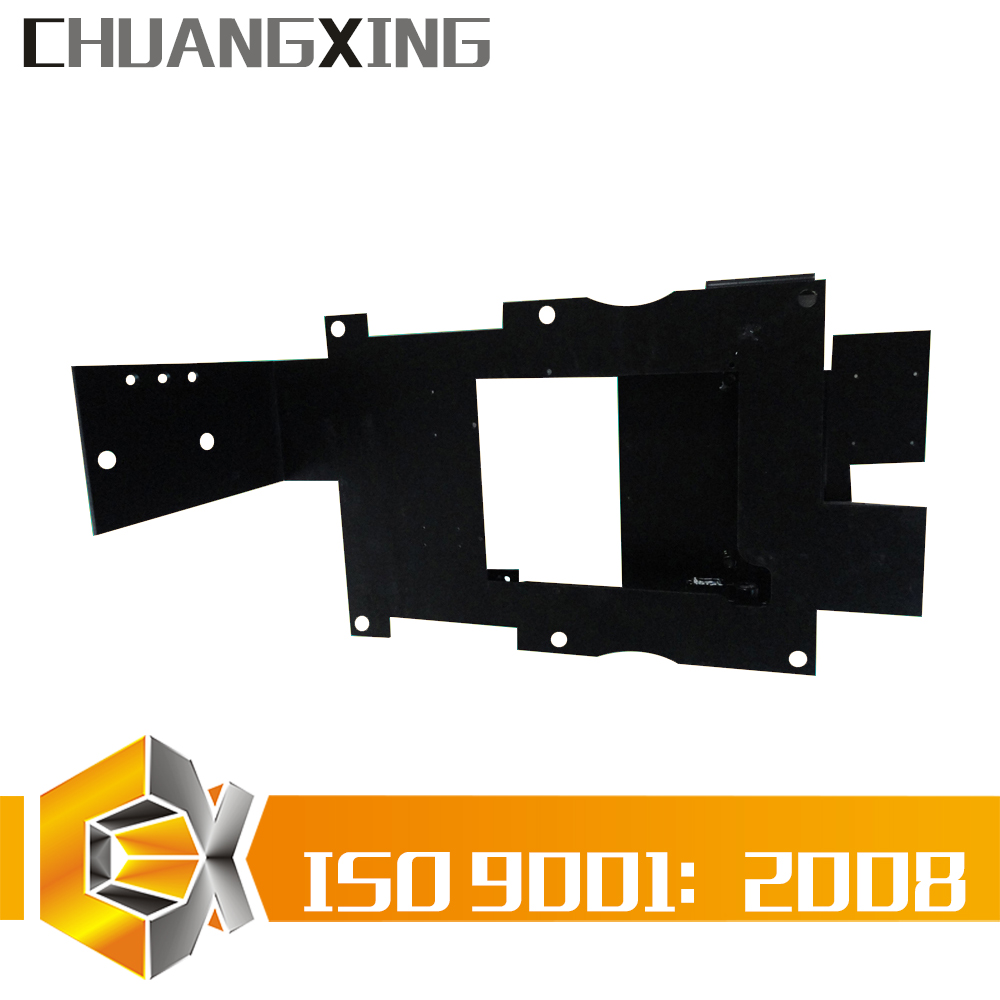 custom designed universal metal tilt LCD plasma LED TV wall mount rail bracket OEM manufacture and fabrication solutions factory