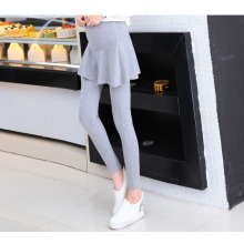 Korean 2017 spring dress pants autumn maternity pantskirt for women and girl