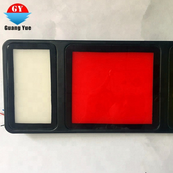 New model square water proof  LED tail lamps 6W  for Truck or lorry