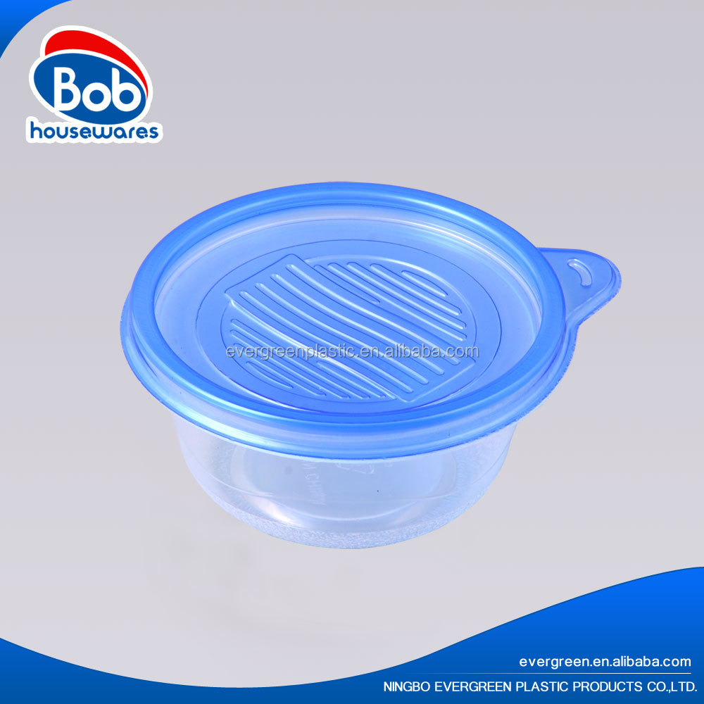 disposable small round plastic containers for jam 150ml