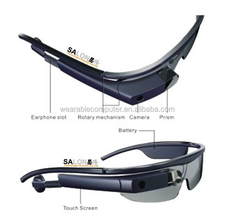2015 New Smart Glasses Smart Wearable Bluetooth Smart Glasses withPhone Call, video,Memory, Speaker, wifi