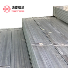 galvanized square structure steel pipe and tube