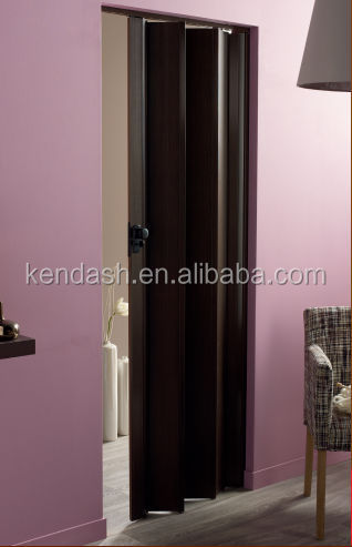 Hong Kong elevator manual door plastic folding wall doors