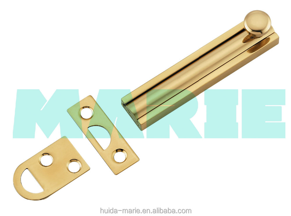 BRASS sliding safety door bolt in 16mm width