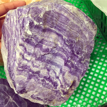 Cheap price natural raw quartz beautiful green and purple fluorite gemstones rough crystal healing stones for sale
