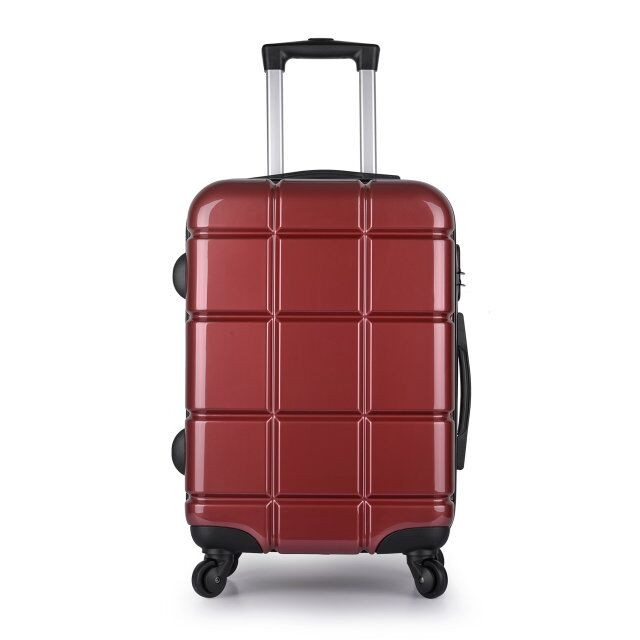 Cheap ABS PC trolley luggage travel bag,luggage set,wheels for suitecase