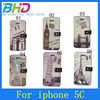 High quality different pattern for iphone 5c cover case