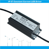 TUV SAA RoHS 70W 18v led driver power supply wateproof ip67 constant current led power supply 70W five years warranty