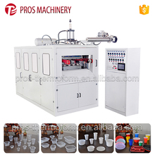 High Output Automatic Disposable PP/PS/PET Food Plastic Container Thermoforming Machine