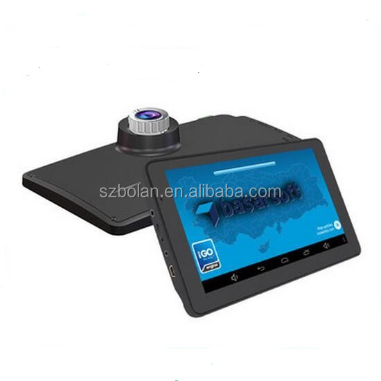 7 Inch Car GPS Navigation Android 4.4 Quad-Core WIFI/FM Tablet PC Truck Vehicle Auto GPS Navigator with Google/Igo Map