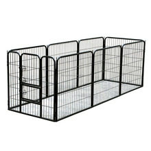 Large Metal Outdoor Dog Play Yard Exercise Pen Kennel Fence