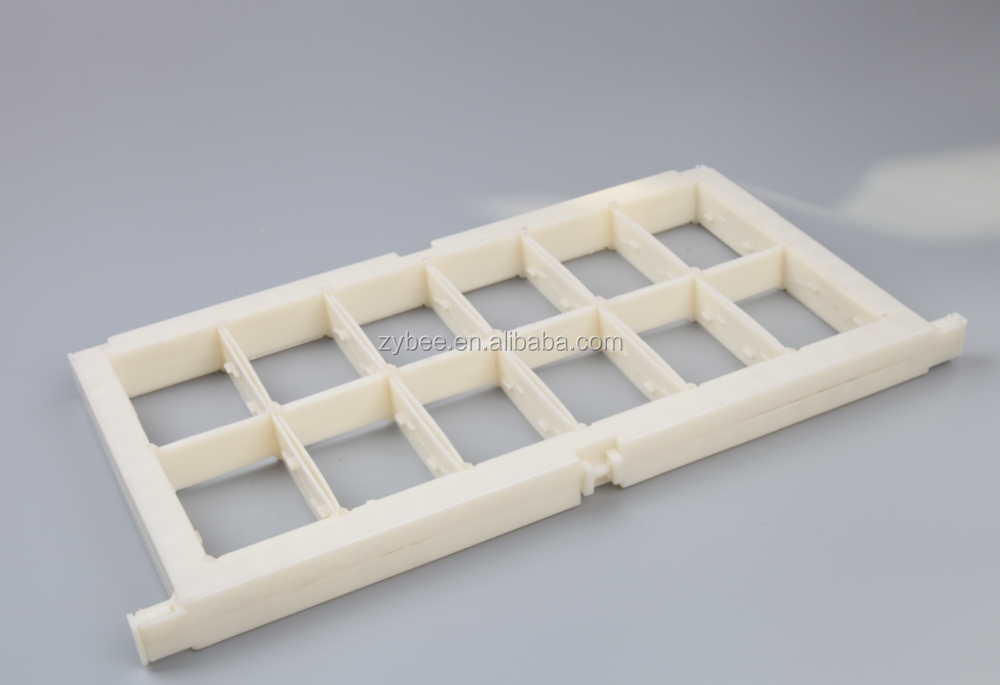 Plastic Assembled Frame for Honey Comb Box