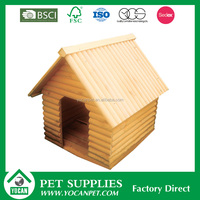 New Design waterproof wooden wpc dog house For price