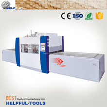 Helpful Brand Shandong Weihai hot vacuum press laminating machine HG2500B, vacuum membrane press machine for laminating veneer