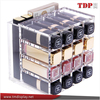 Handmade Clear Acrylic Lipstick Holder Case Makeup Organizer Cosmetic Pencil Storage Display Comprises of 16 Spaces