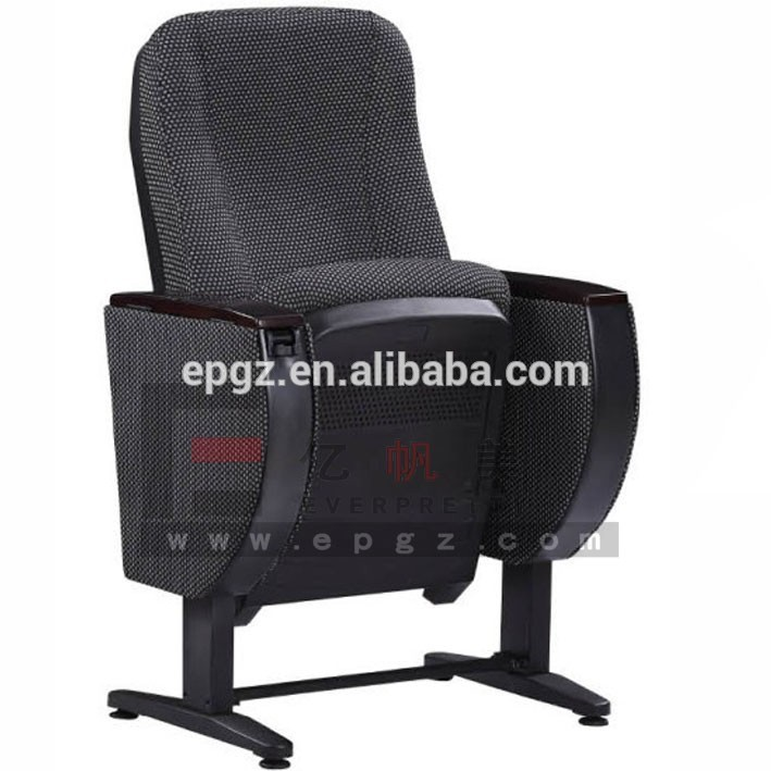 Fabric Cinema Seat Folding Stadium Chair Auditorium Chair Theatre Chair