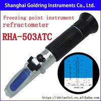 Antifreeze Coolant Freezing point battery electrolyte specific gravity cleaning agent refractometer RHA-503ATC