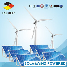 Romer sea water desalination treatment wind power system