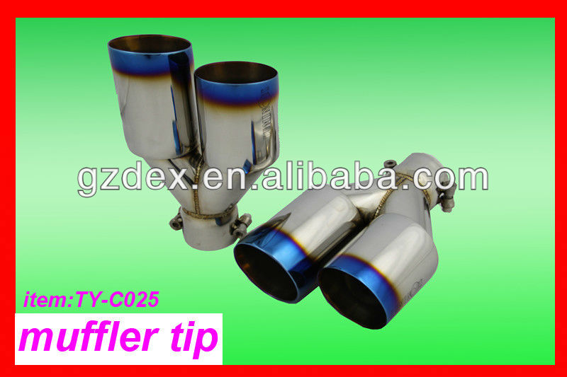 muffler tip exhaust system automotive
