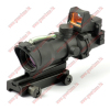 green optical fiber hunting 4x32 red dot sight riflescopes hunting equipment NGA0407