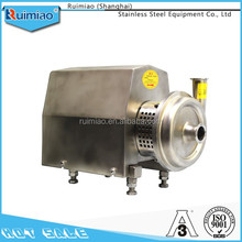 customize 304/316 sanitary stainless steel milk pumping